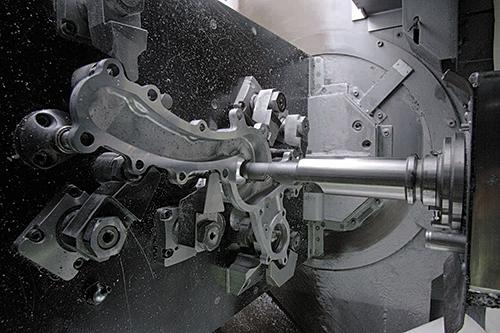 Proceso de mecanizado de alta precisión para bombas de agua